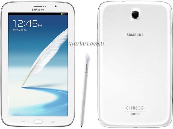 Samsung Galaxy Note 8.0 Vodafone internet Ayarları (2)