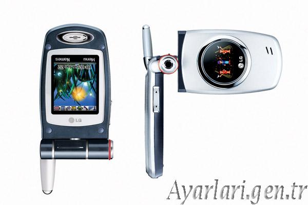 LG 7100 Vodafone İnternet Ayarları (1)