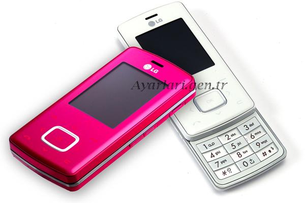 LG chocolate (KG800) Vodafone internet Ayaraları (4)