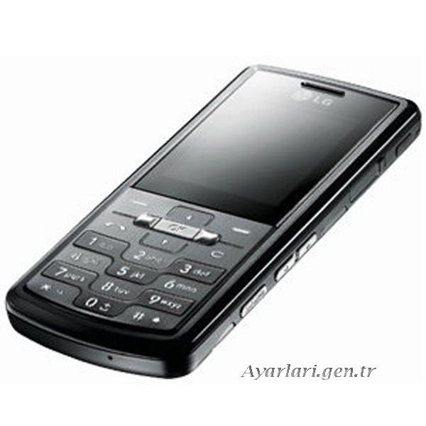 LG KE 770 Vodafone İnternet Ayarları (1)