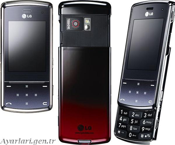 LG KF 510 Vodafone internet Ayarları (1)