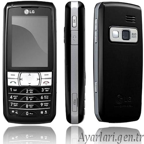 LG KG 300 Vodafone internet Ayarları (1)