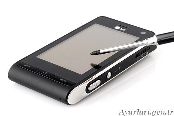 LG KU 990 Vodafone İnternet Ayarları (3)