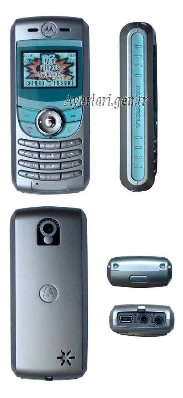 Motorola C550 Vodafone İnternet Ayarları (3)