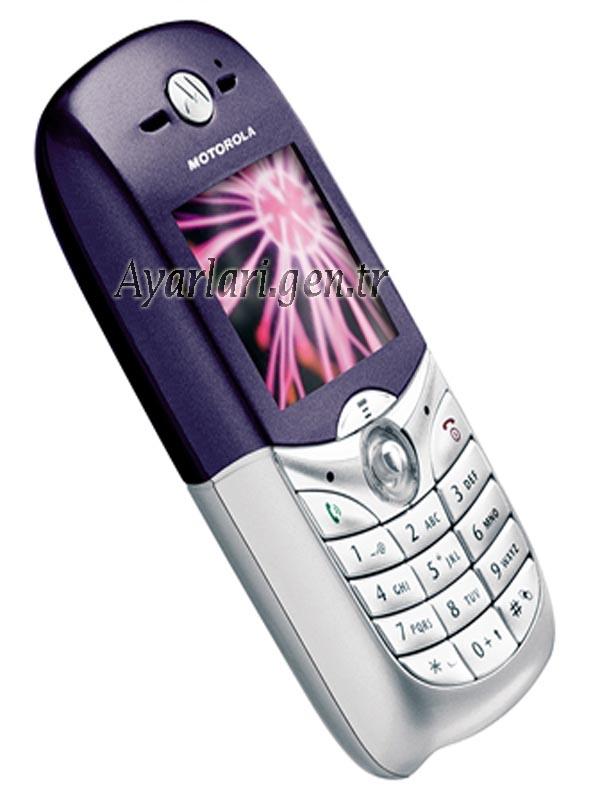 Motorola C650 vodafone İnternet Ayarları (1)