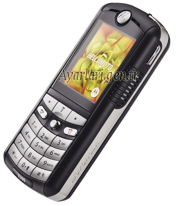 Motorola E398 Vodafone İnternet Ayarları (1)