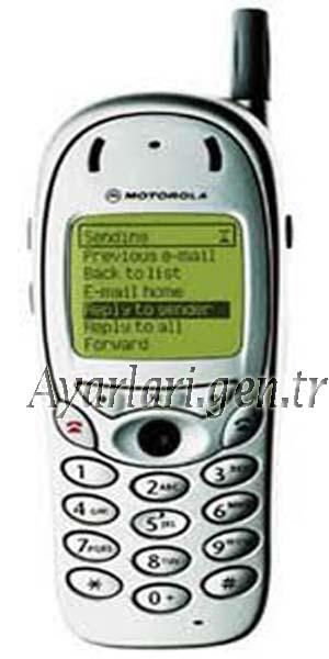 Motorola TIMEPORT 280 Vodafone internet Ayarları (3)