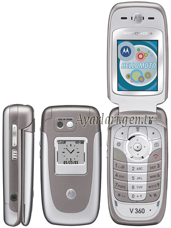 Motorola V360 Vodafone İnternet Ayarları (1)