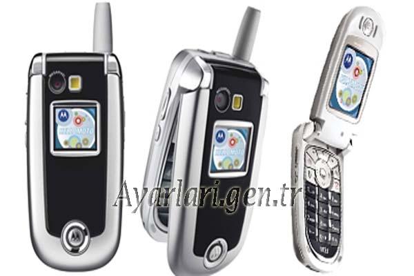 Motorola V635 Vodafone İnternet Ayarları (3)