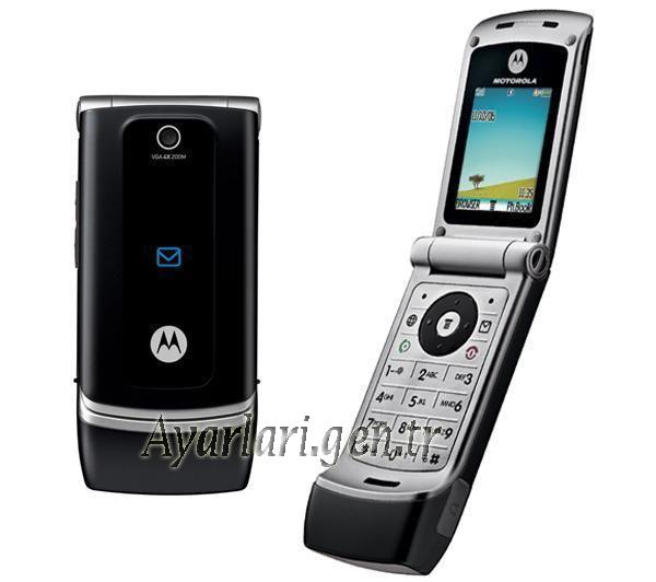 Motorola  W375 Vodafone İnternet Ayarları (2)