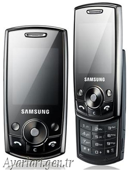 Samsung J700 Vodafone İnternet ayarları