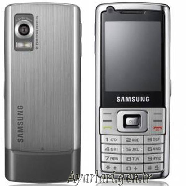 Samsung L700 Vodafone İnternet Ayarları