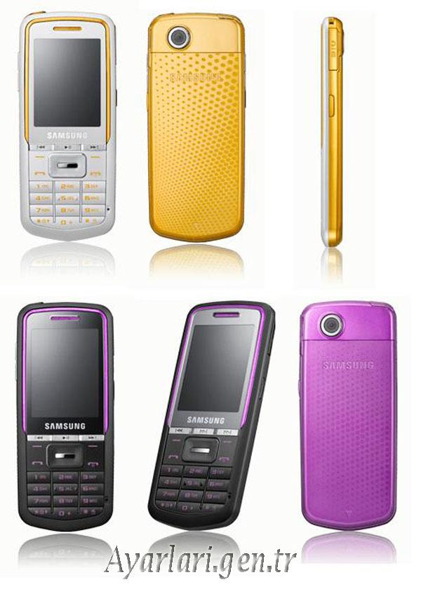 Samsung M3510 Vodafone İnternet – Wap – Gprs Ayarları