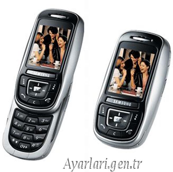 Samsung SGH-E350 Vodafone İnternet Ayarları
