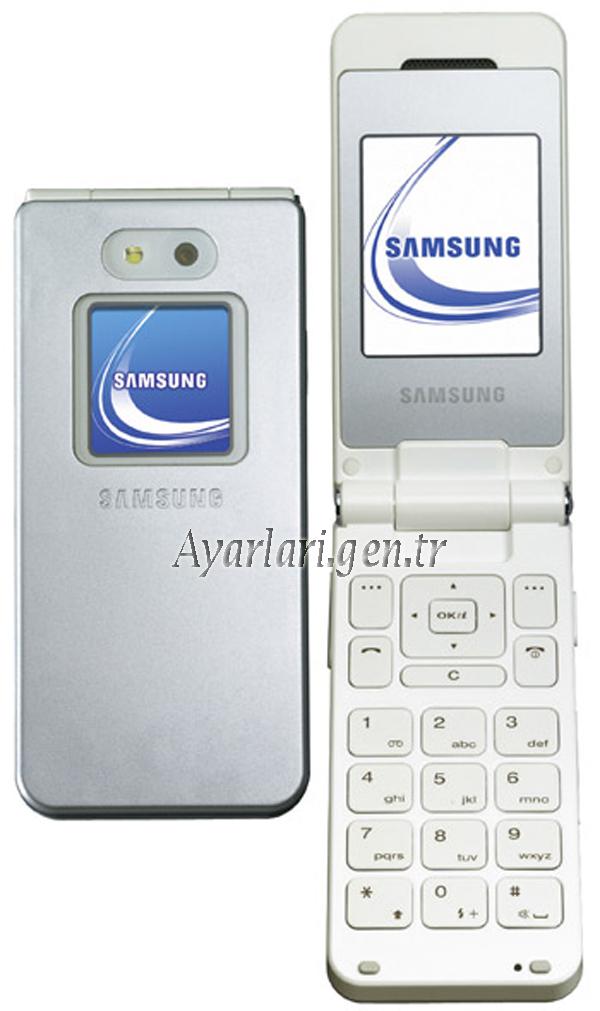 Samsung SGH-E870 Vodafone Wap-Gprs-İnternet Ayarları
