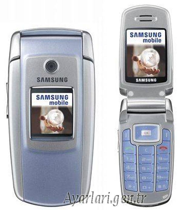 Samsung SGH-M300 Vodafone İnternet Ayarları