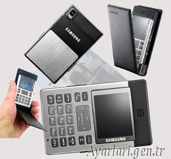 Samsung SGH-P300 Vodafone İnternet – Wap – Gprs Ayarları