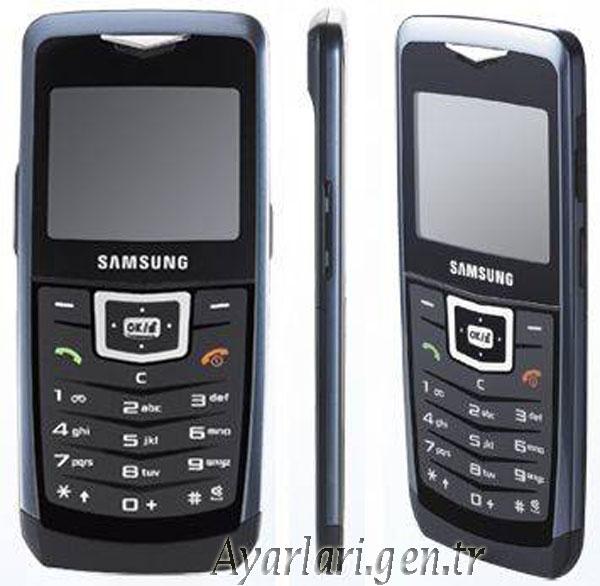 Samsung SGH-U100 Vodafone İnternet – Wap – Gprs Ayarları