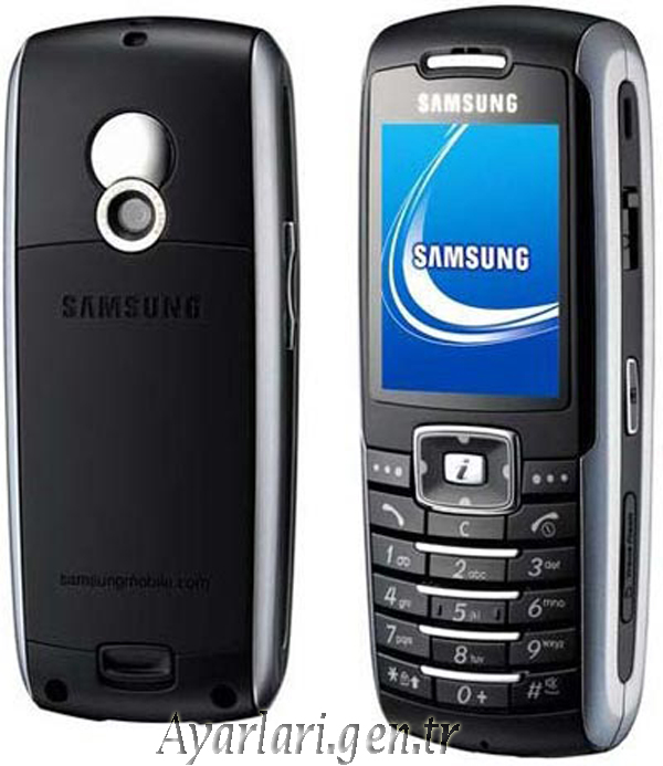 Samsung SGH-X700 Vodafone İnternet – Wap – Gprs Ayarları