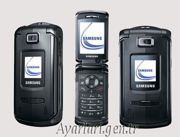 Samsung SGH-Z540 Vodafone İnternet – Wap – Gprs Ayarları