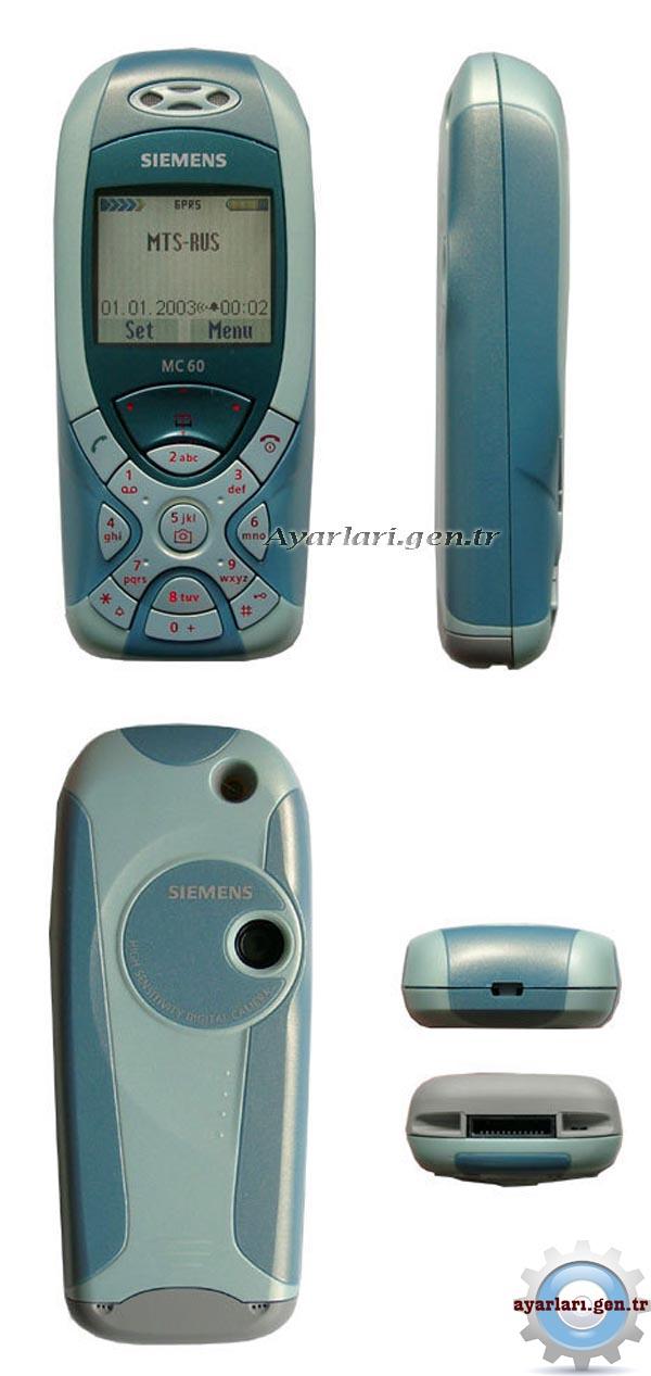 Siemens MC60 Vodafone İnternet Wap Gprs MMS Ayarları