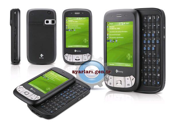 HTC P4350 Vodafone İnternet Wap Gprs MMS Ayarları