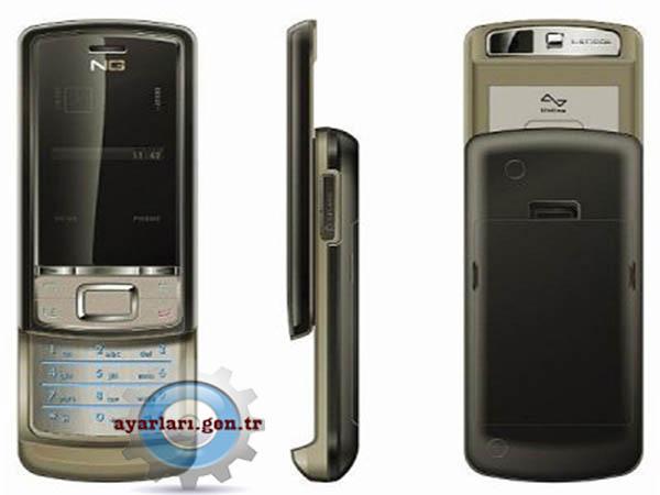 Next Generation Mobile NG-622 Vodafone İnternet Wap Gprs MMS Ayarları