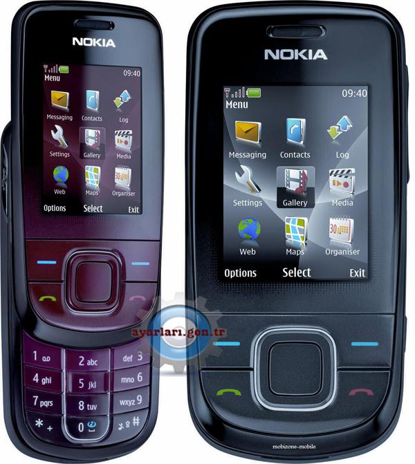 Nokia 2760 Vodafone İnternet Wap Gprs Ayarları