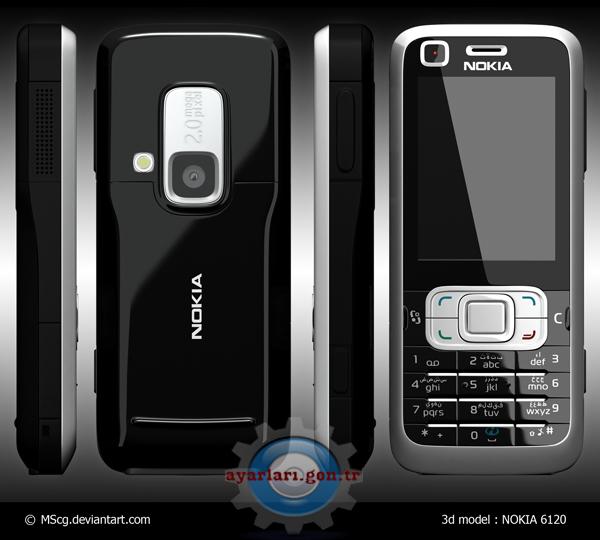 Nokia 6120 Vodafone İnternet Wap Gprs Ayarları