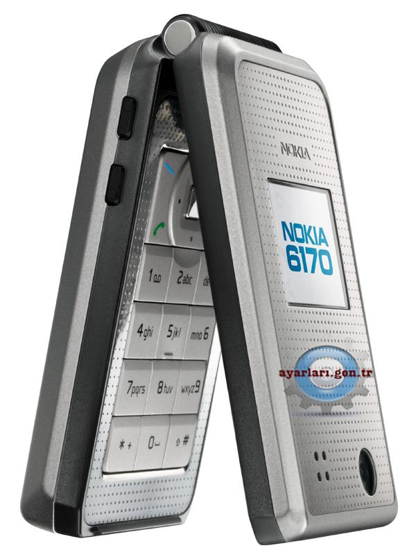 Nokia 6170 Vodafone İnternet Wap Gprs Ayarları