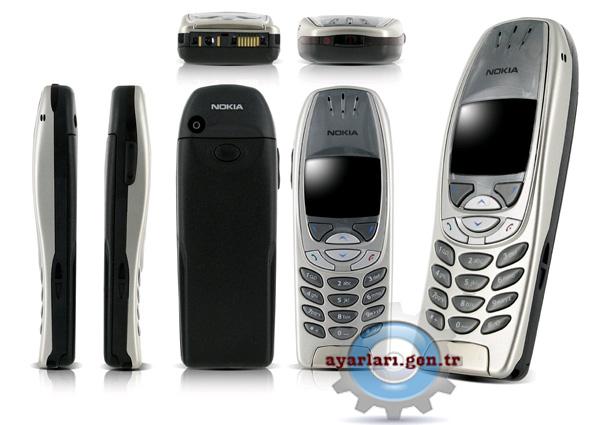 Nokia 6310 Vodafone İnternet Wap Gprs Ayarları