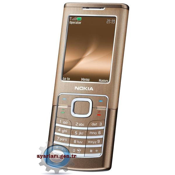 Nokia 6500 Classic Vodafone İnternet Wap Gprs Ayarları