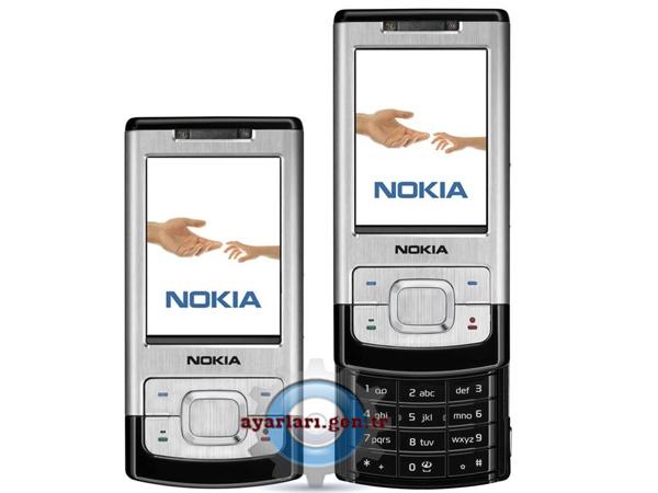 Nokia 6500 Slide Vodafone İnternet Wap Gprs Ayarları