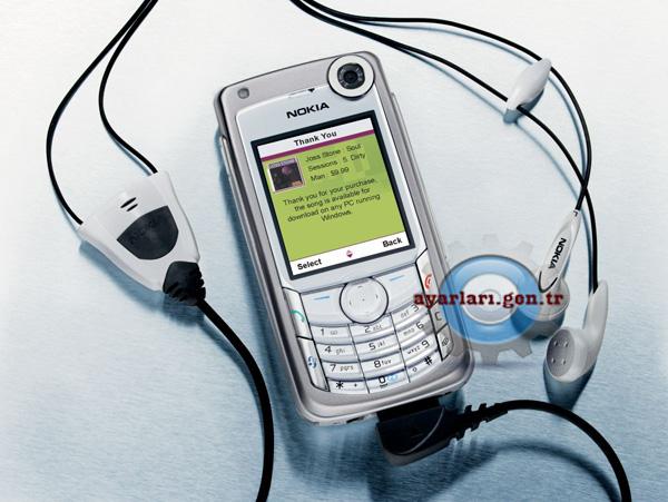 Nokia 6680 Vodafone İnternet Wap Gprs Ayarları