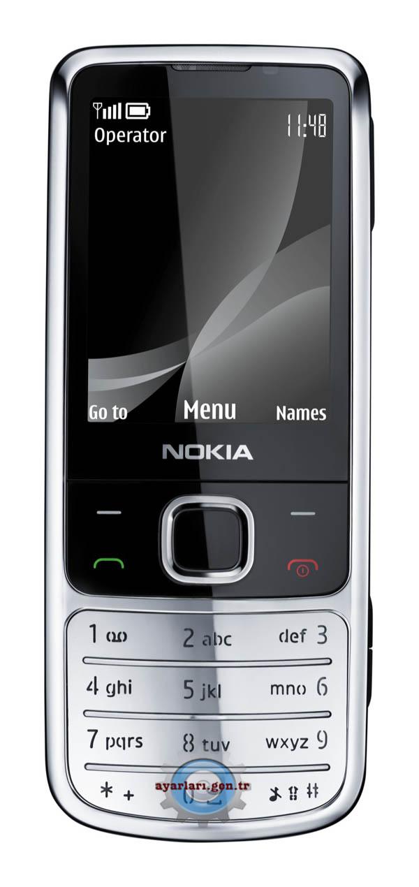 Nokia 6700 Classic Vodafone İnternet Wap Gprs Ayarları