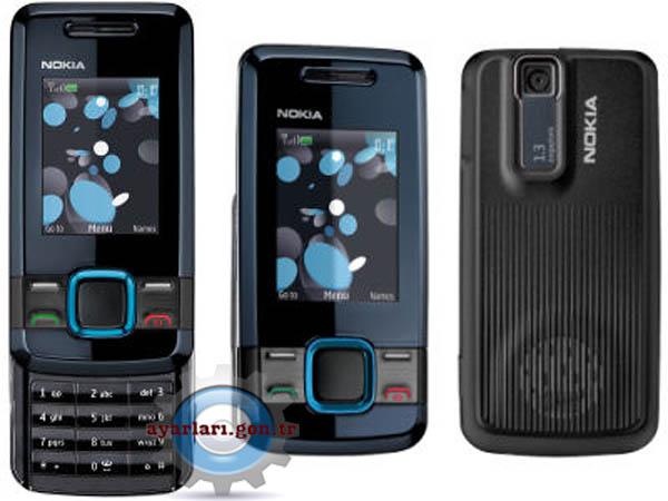 Nokia 7100 Supernova Vodafone İnternet Wap Gprs MMS Ayarları