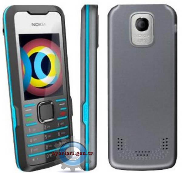 Nokia 7210 Supernova Vodafone İnternet Wap Gprs MMS Ayarları