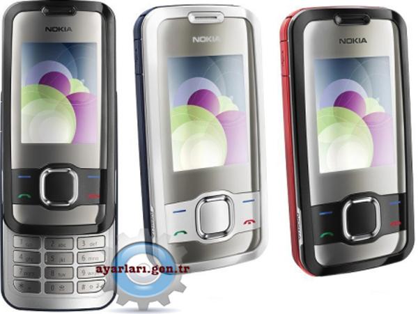 Nokia 7610 Süpernova Vodafone İnternet Wap Gprs MMS Ayarları