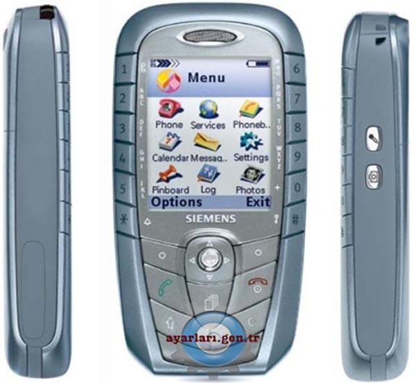 Siemens SX1 Vodafone İnternet Wap Gprs MMS Ayarları
